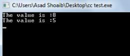 C++ constructors example