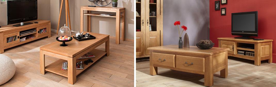 meuble de salon en bois massif tout