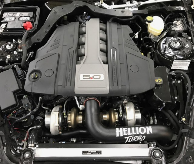 Hellion 2018 Ford Mustang Gt Twin Turbo System