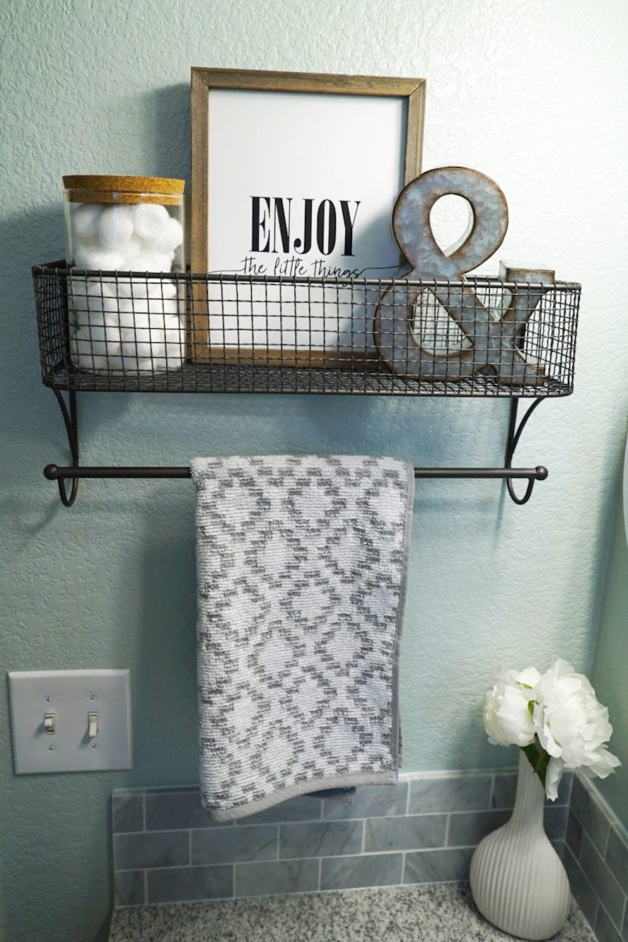 Guest Bathroom Makeover Reveal | Before and After Bathroom | Hello