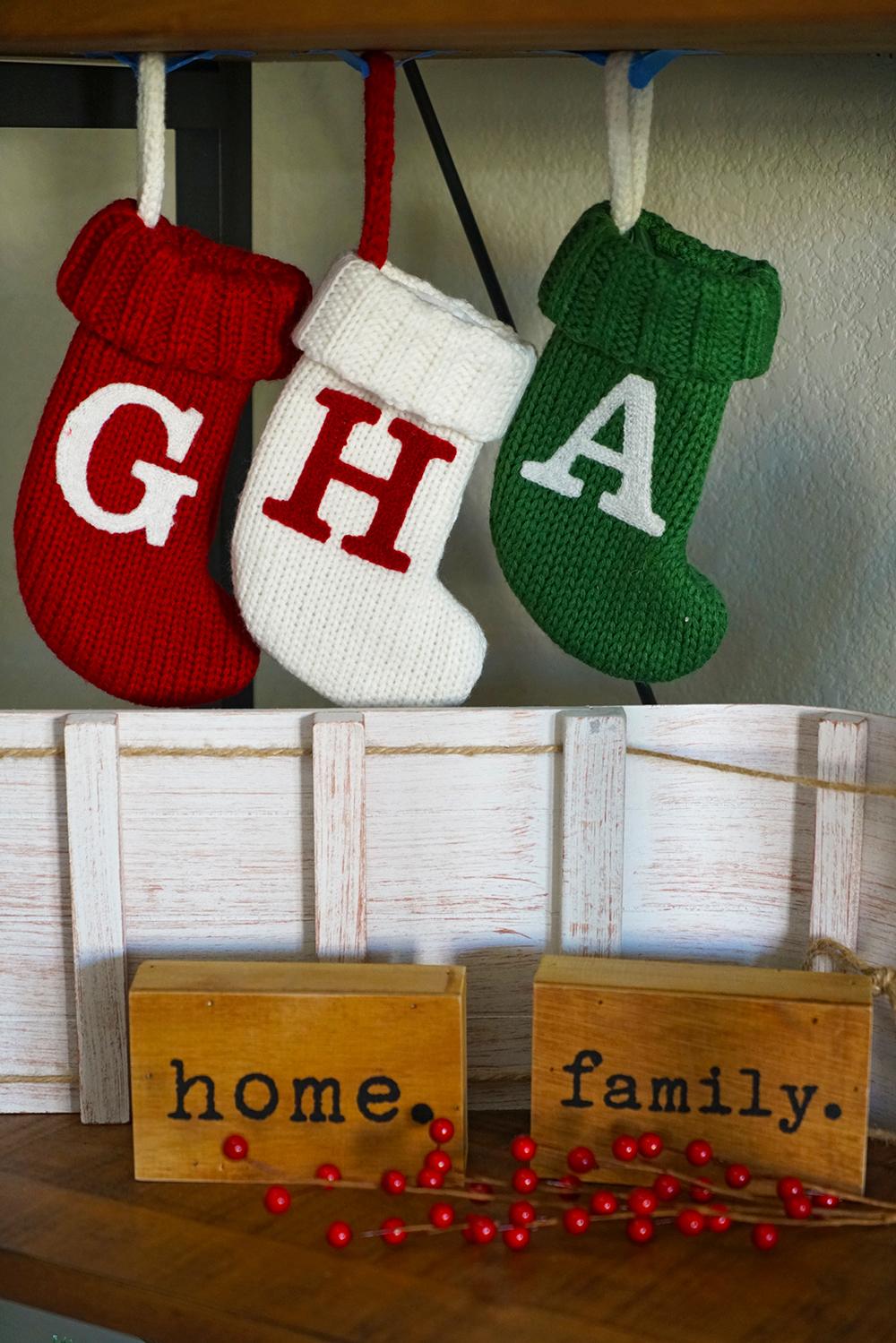 christmas decorating ideas - christmas stockings