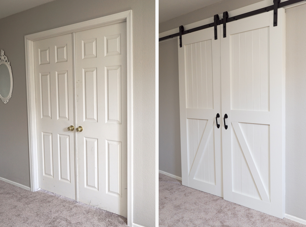 How To Hang Barn Doors A Step By Step Guide Hello Hayley