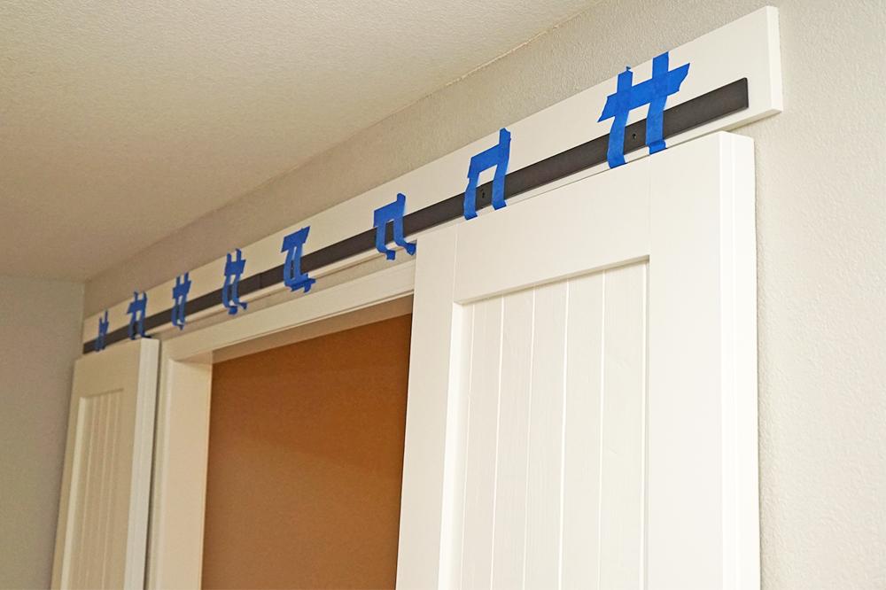 how to hang barn doors - tutorial