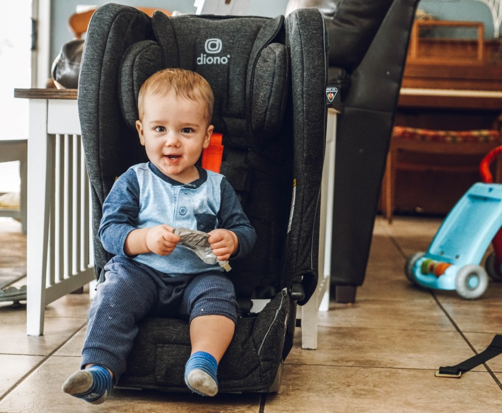 baby hates the car seat - diono