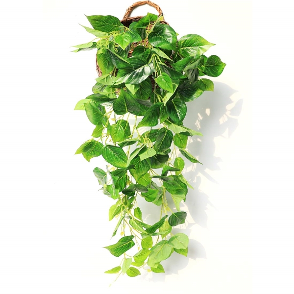 fake hanging ivy from amazon