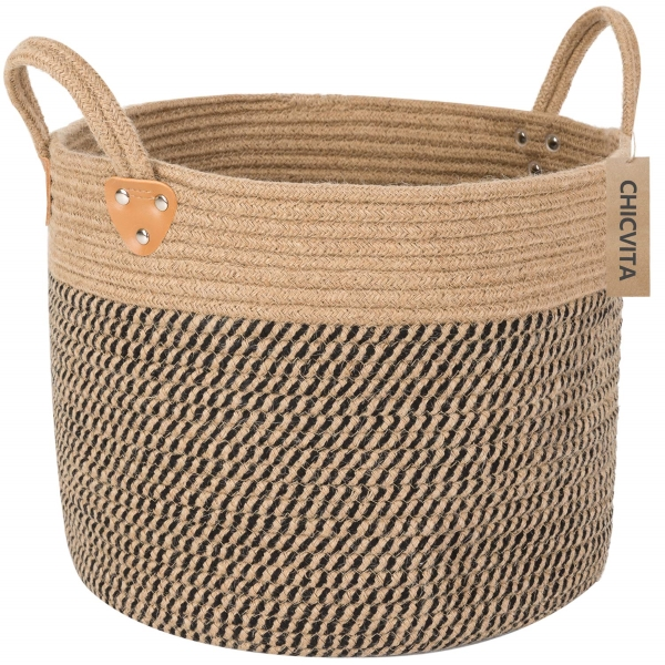 small cheap woven basket from amazon