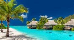 Luxuressort auf Französisch Polynesien