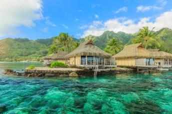 Luxusressort auf Tahiti