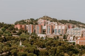 Barcelona Stadthäuser im Grünen