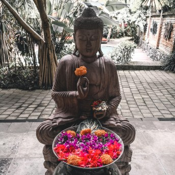 Buddhastatue auf Bali