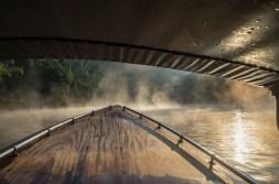 Bootsfahrt am Kwai