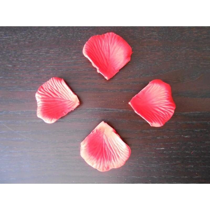 acheter 100 petales de rose artificielle rouge sur hello pompon