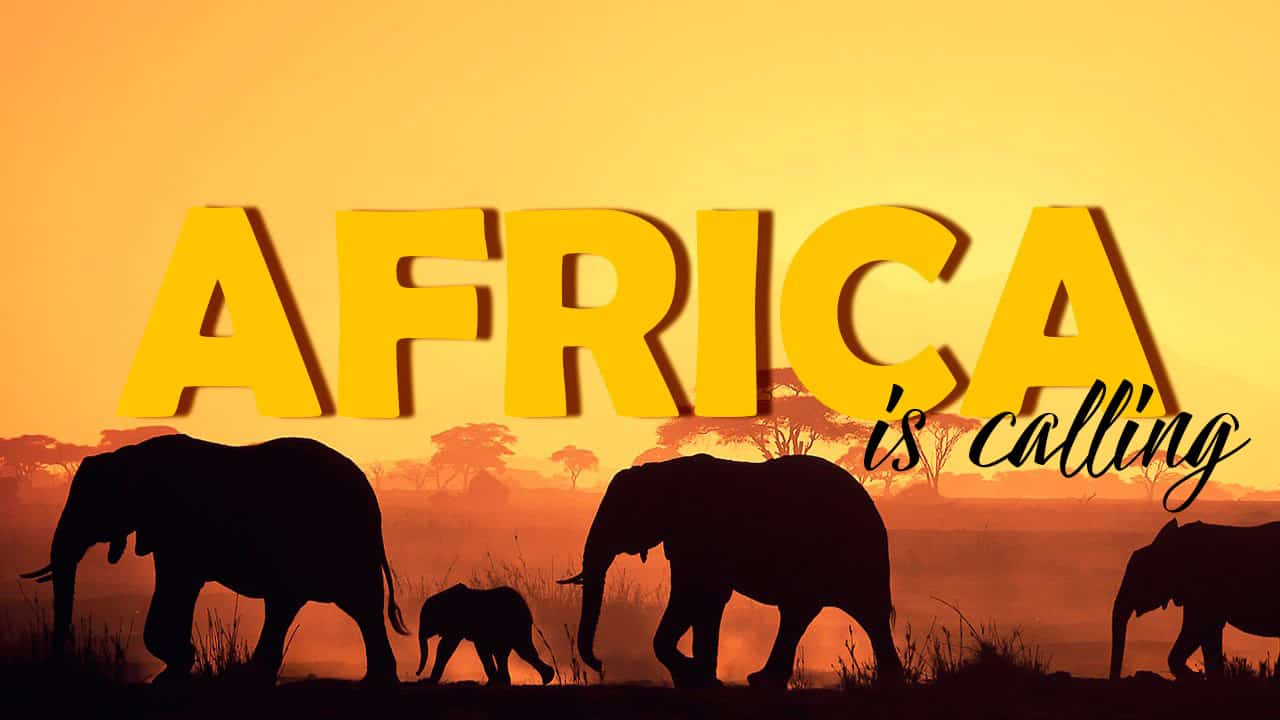 Africa is calling…