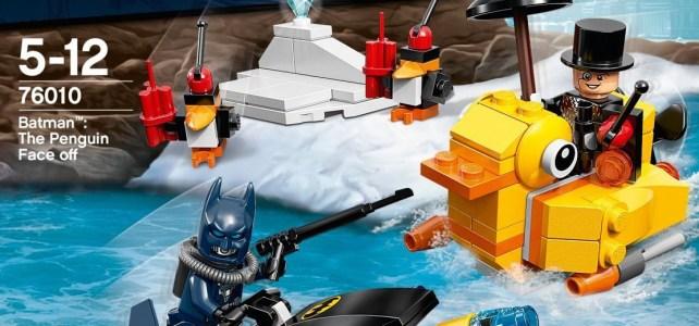 REVIEW LEGO 76010 Batman – L'affrontement avec le Pingouin