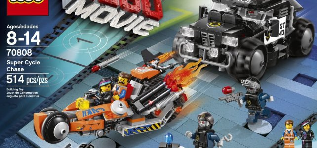 REVIEW LEGO Movie 70808 - La poursuite