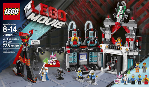 REVIEW LEGO Movie 70809 – Le QG de Lord Business