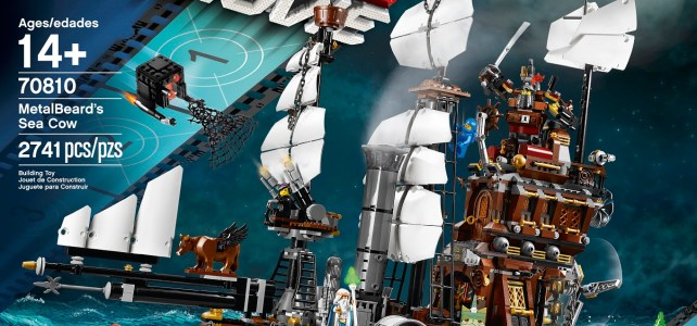 REVIEW LEGO Movie 70810 - Le Lamantin de Barbe d'Acier