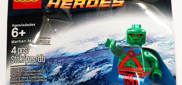 Polybag LEGO Martian Manhunter