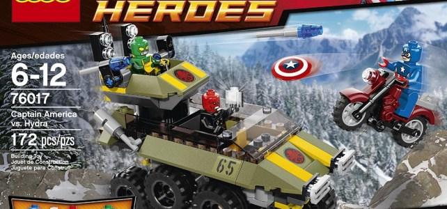 REVIEW LEGO 76017 Marvel Super Heroes – Captain America contre Hydra