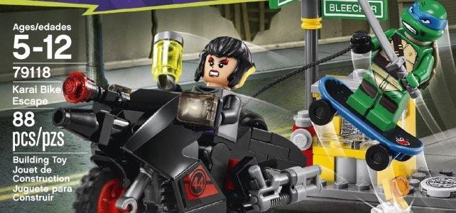 REVIEW LEGO 79118 TMNT - L'évasion de Karai en moto
