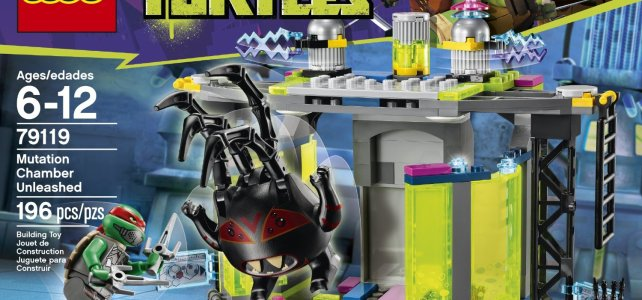 REVIEW LEGO 79119 TMNT – La chambre de mutation