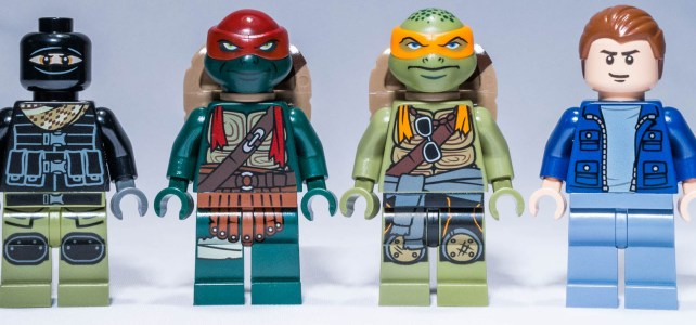 REVIEW LEGO 79115 – Ninja Turtles – Turtle Van takedown
