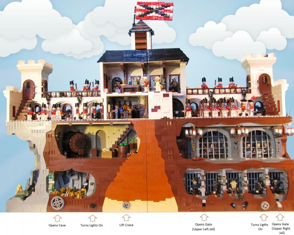 LEGO Fort Portugal 2