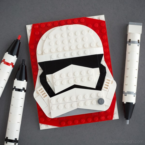 Brick Sketch Stormtrooper