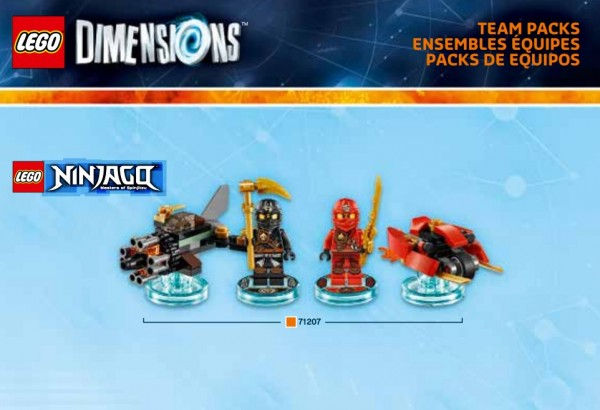 LEGO Dimensions Pack 2