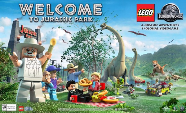 LEGO Jurassic Park Welcome