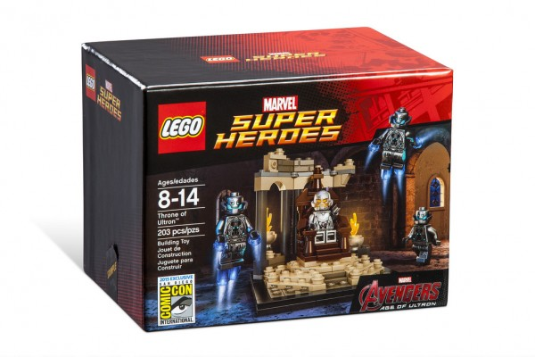 SDCC 2015 LEGO Marvel Super Heroes Throne of Ultron