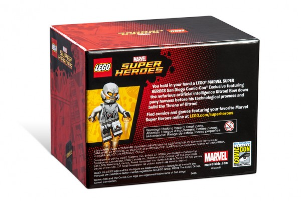 SDCC 2015 LEGO Marvel Super Heroes Throne of Ultron back