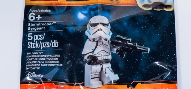 REVIEW LEGO 5002938 – Polybag Stormtrooper Sergeant