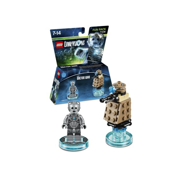 LEGO Dimensions Doctor Who Cyberman Fun Pack 71238