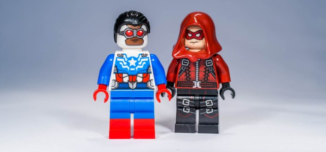 REVIEW LEGO SDCC Exclusive Minifigures – Arsenal & Sam Wilson
