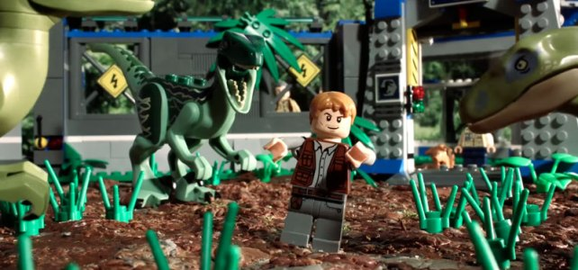 Brickfilm : Jurassic World en 90 secondes !