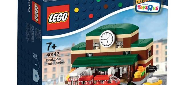 LEGO Bricktober 40142 Bricktober Train Station