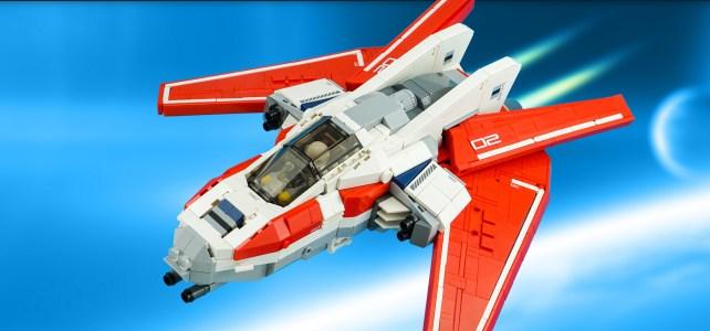 LEGO Elfire Interceptor Starfighter