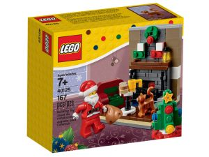 LEGO Seasonal 40125 Santa's Visit box