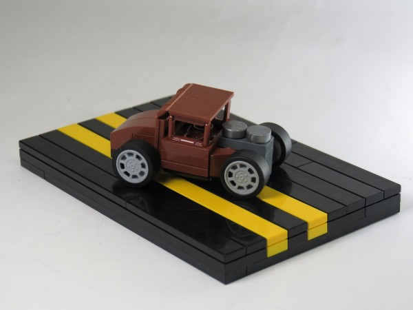 micro LEGO Hot Rod