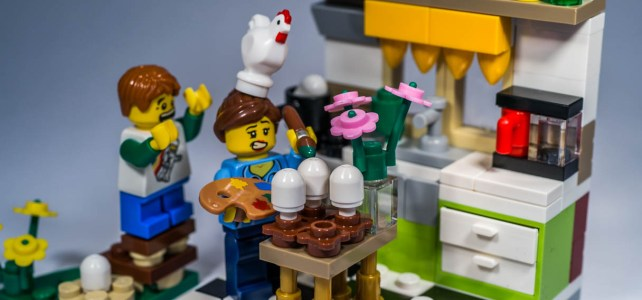 REVIEW LEGO 40121 – Seasonal – Painting Easter Eggs