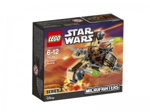 LEGO Star Wars Microfighters 75129 Wookie Gunship box