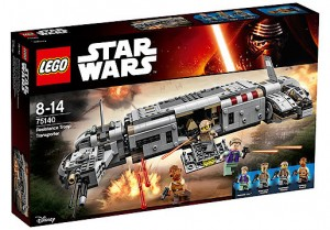 LEGO Star Wars TFA 75140 Resistance Troop Transporter box