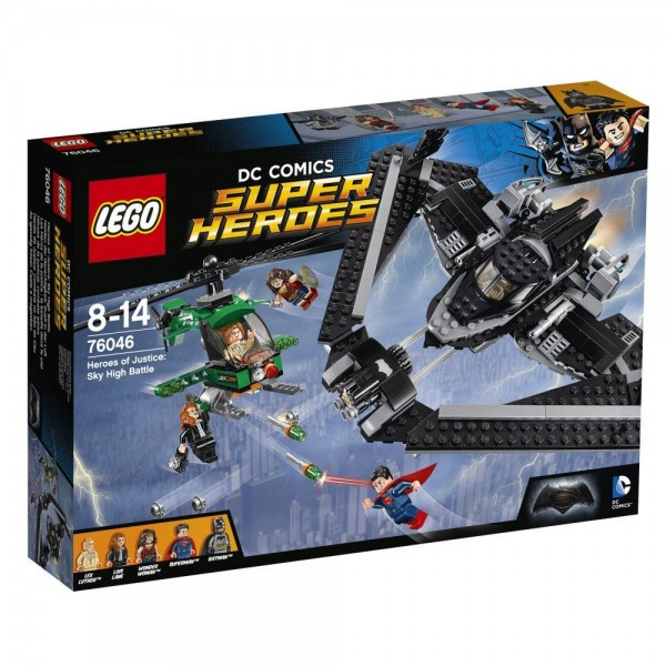 76046 Heroes of Justice Sky High Battle box