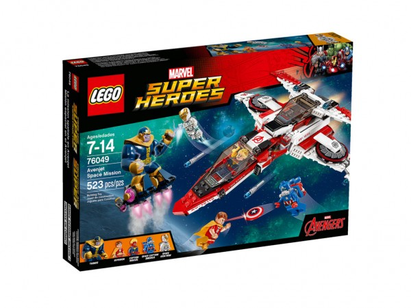 76049 Avenjet Space Mission (1) LEGO Marvel 2016