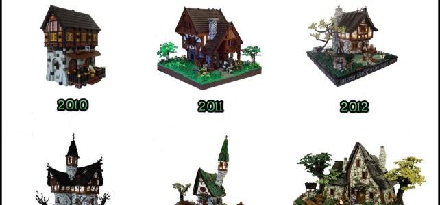 Evolution LEGO Castle - A builder must keep evolving!