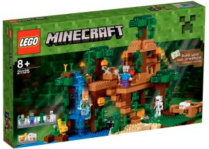 LEGO Minecraft 2016 - The Jungle Tree House (21125)
