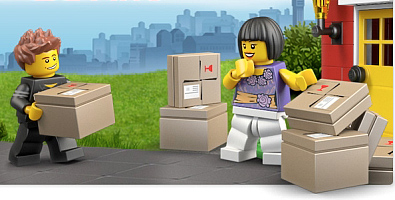 LEGO-Shipping