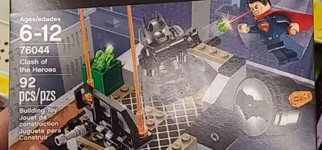 LEGO DC Comics Super Heroes 76044 Clash of the Heroes