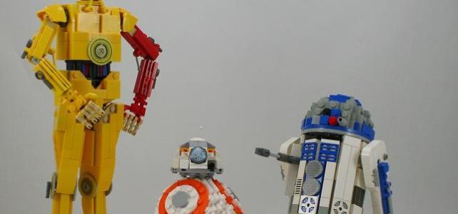 LEGO Ideas Star Wars BB-8 C-3PO R2-D2